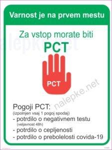 načelo PCT POGOJ
